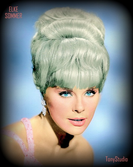 a Elke Sommer modified
