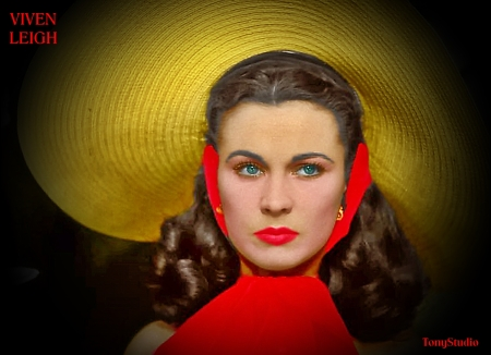 a Vivien Leigh red modified